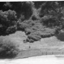 Photographs of landscape of Bolinas Bay, aerial