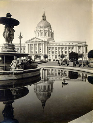 [Civic Center Plaza and City Hall, 1920's]
