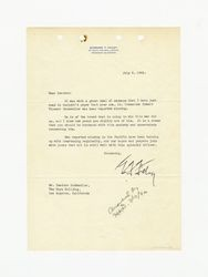 Letter from Edward T. Foley to Isidore B. Dockweiler, July 9, 1942