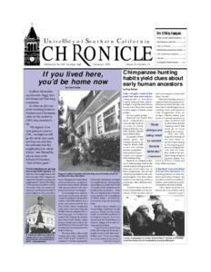 USC chronicle, vol. 14, no. 19 (1995 Feb. 6)