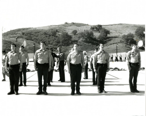 Inspection at the Sheriff's Station, circa 1990