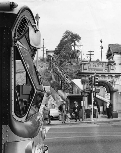 Angels Flight and Bunker Hill
