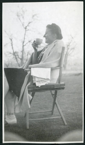 Photograph of a women at Manzanar