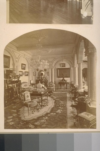 [Parlor. Estate of W.C. Ralston, Belmont, California.]