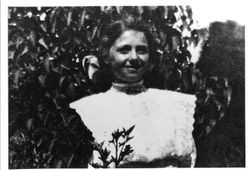 Emma Silveira, Holy Ghost Society Queen, 1912