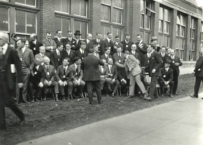 Group portrait, Society of Motion Picture Engineers, 1922
