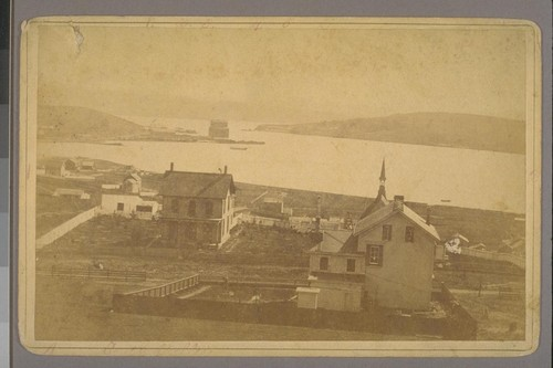 South Vallejo, Cal. [Ca. 1880? Photograph by James G. Smith.]