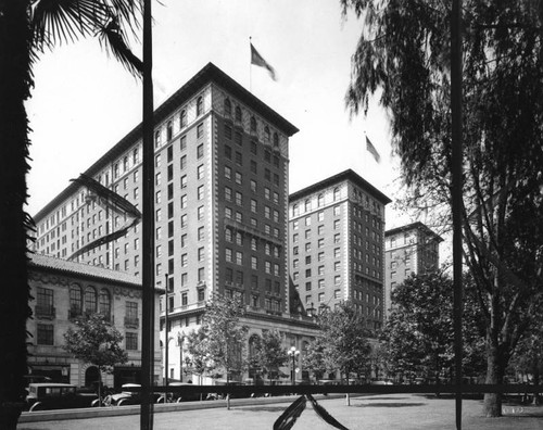 View of the Biltmore Hotel