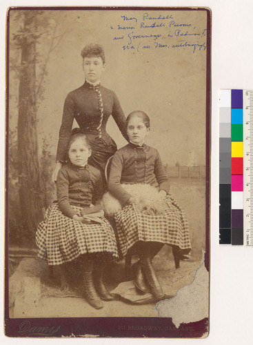 Mary Randall, Marion Randall Parsons, and Governess