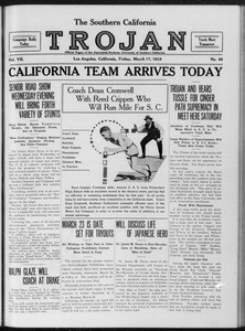The Southern California Trojan, Vol. 7, No. 88, March 17, 1916
