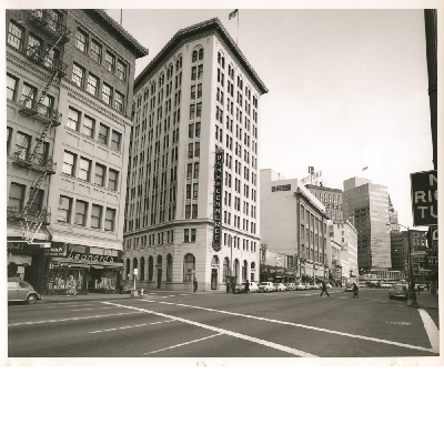 East side of San Pablo Avenue between 16th and 15th streets, March 1958