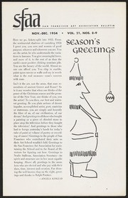 SF Art Association Bulletin - 1954-11/1954-12