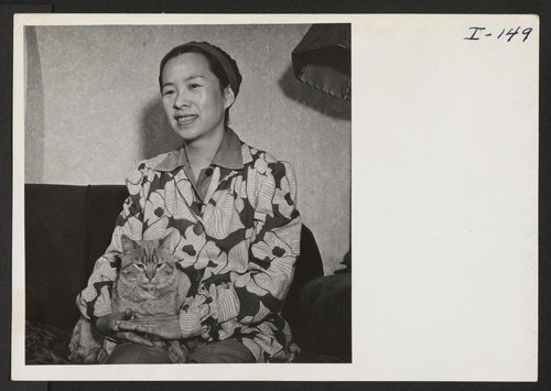 Mrs. Fred Mittwer, who writes under the name of Mary Oyama, relocated in Denver from Heart Mountain in January, 1943