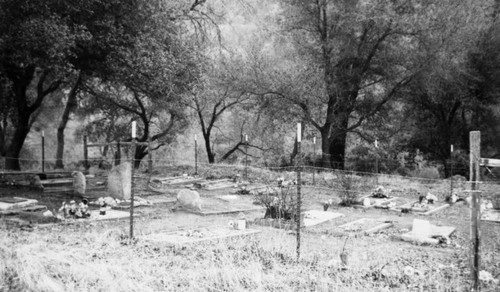 View of Clark/Josephson Cemetery