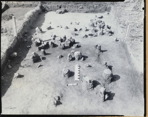 Excavation Units, Ventura County, April-May 1967
