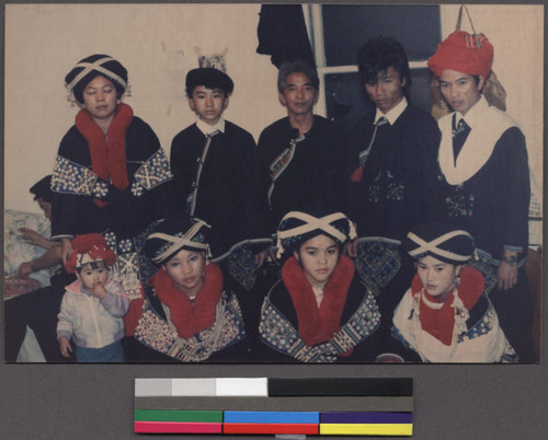 Mien Young People In Traditional Clothing Calisphere