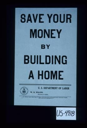 Save your money by building a home