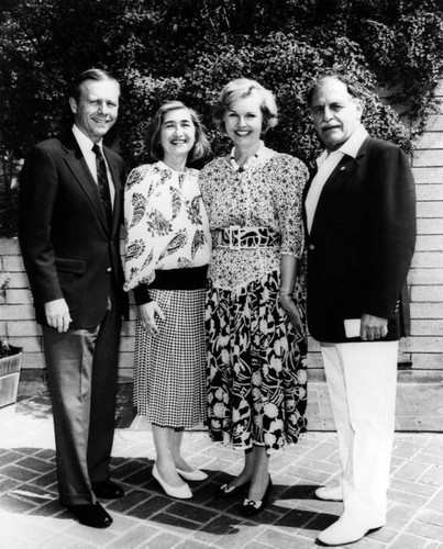 Governor Wilson with wife and friends