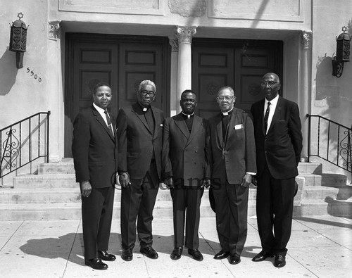 Ministers at AME Conferences, Los Angeles, 1970