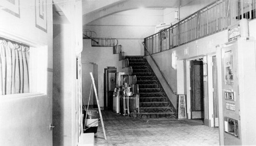 [Foyer of the Noe Theater]