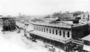 Federal Building in the Downey block, 1887