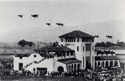 United Airport. Opening Day at United Airport, May 30, 1930