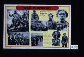 War Pictorial. German warriors - myth and reality
