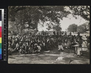 Congregation at Hyderabad, Andhra Pradesh, India, 1920-1921