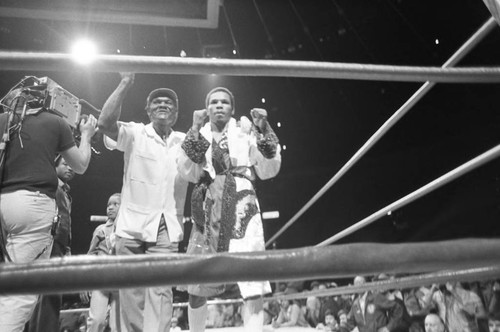 Boxing championship, Los Angeles, 1983