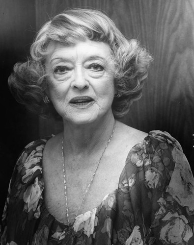 Bette Davis, a portrait