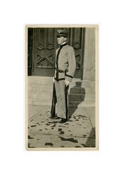 Henry Isidore Dockweiler as a military cadet, circa 1910s