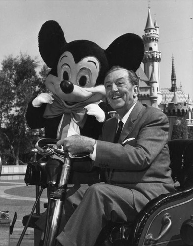 Calisphere Walt Disney With Mickey Mouse