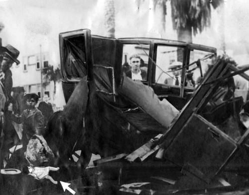 Pantages crash scene