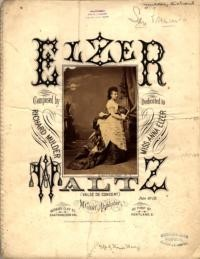 Elzer waltz : so gaily, so brightly / Richard Mulder, op. 58