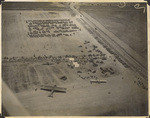 [Aerial view of airfield]