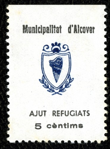 Spanish Civil War Stamp: Municipal Governments