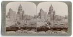 Havoc of the terrible earthquake - ruins of the once magnificent City Hall, San Francisco. #8189.