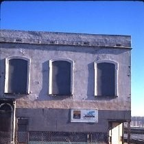 Old Sacramento. View of the Morse Building before restoration on the east side of 2nd at K Street