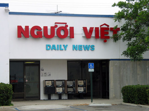 Calisphere: Nguoi Viet Daily News, Vietnamese language
