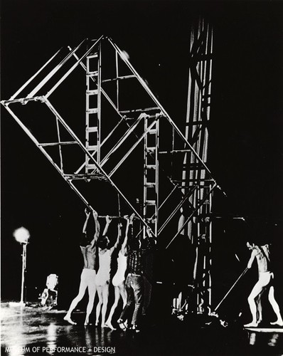"Performers in Halprin's ""Parades and Changes"""