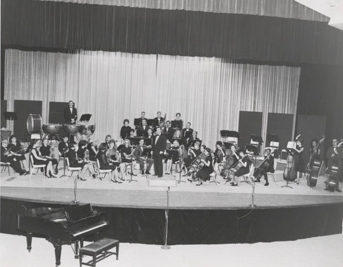 Pepperdine College Community Orchestra, early 1960s