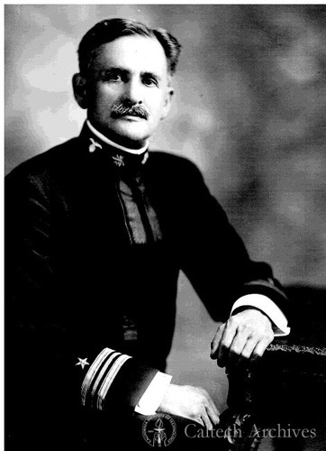 A. A Michelson in naval uniform