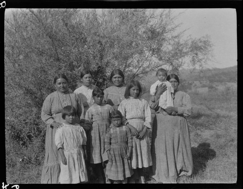 Mary Benson and relatives