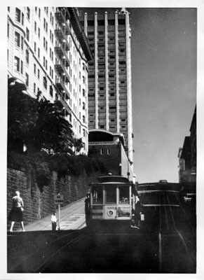 [Cable car on Powell Street]