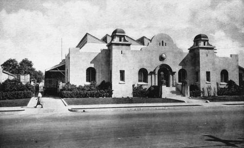 Anaheim Orange And Lemon Association Packing House, Anaheim [graphic]