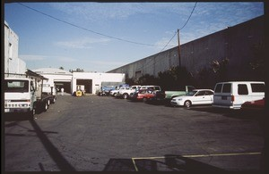 Industrial buildings between Indiana Street and Medford Street and between North Bonnie Beach Place and Worth Street, Los Angeles, 2002