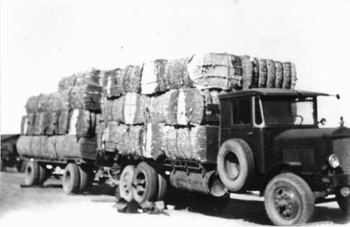 Truck with a Load of Hay