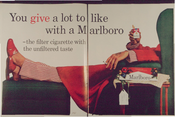You give a lot to like with a Marlboro