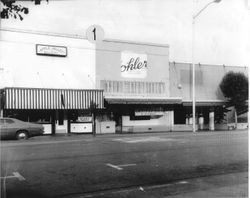 Wohler's department store located at 141 North Main Street in Sebastopol, about 1972