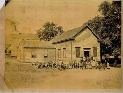 Lincoln Hall--also called Sebastopol Grammar School--Sebastopol's first school